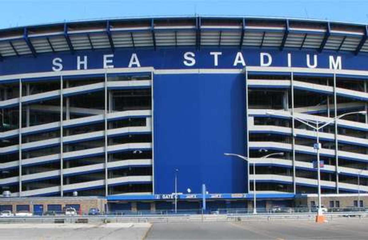 Shea Stadium; Home of the New York Mets (1964-2008)
