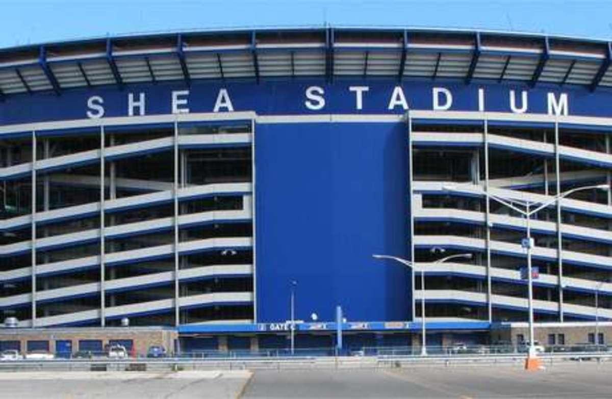 Shea Stadium; Home of the New York Mets (1964-2008)