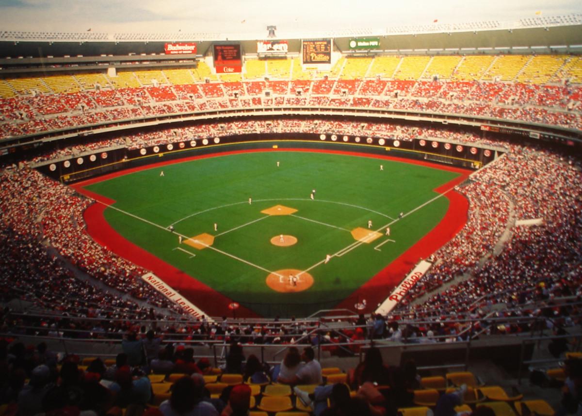 Veterans Stadium; Home of the Philadelphia Phillies (1971-2003)