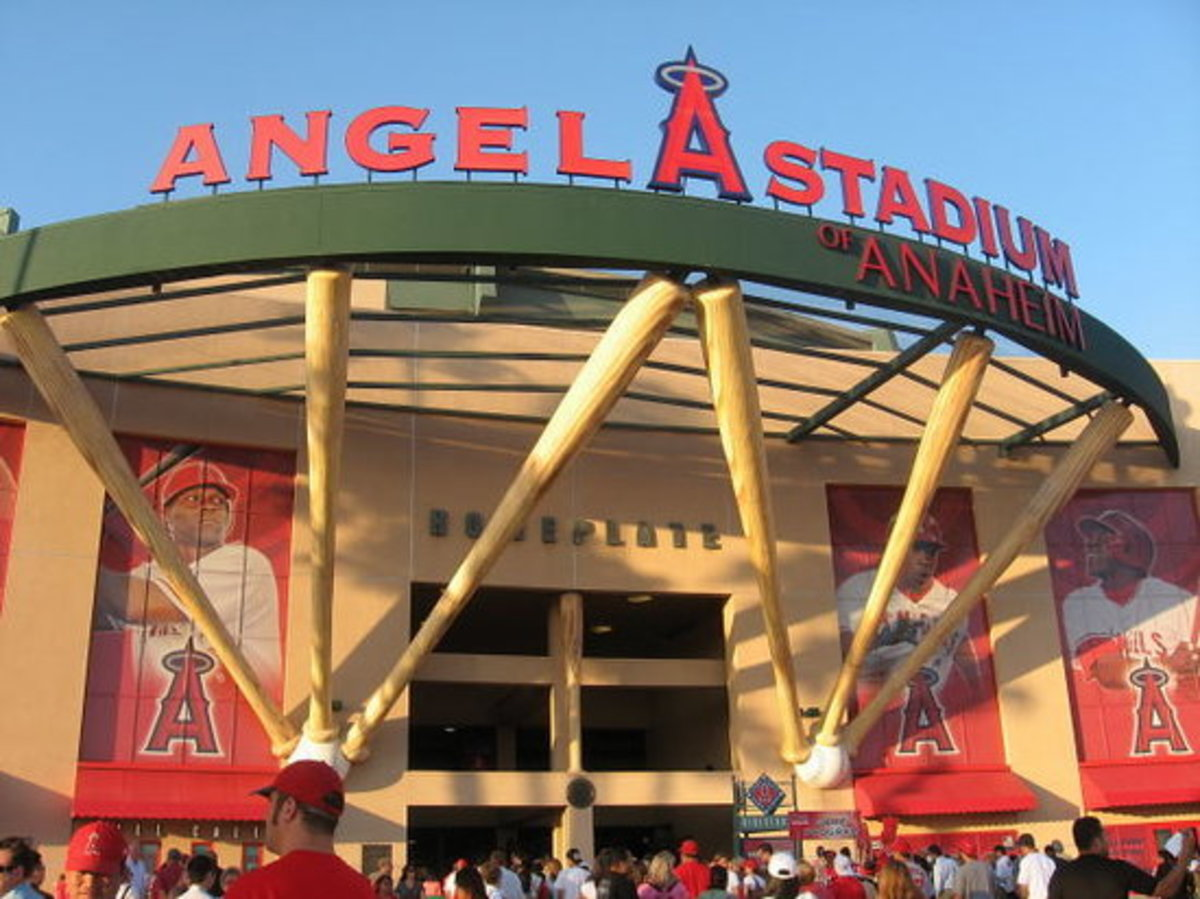 Home of the California/Anaheim/Los Angeles Angels