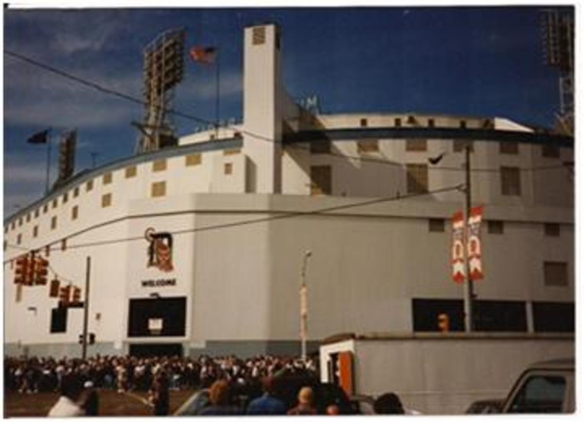 Tiger Stadium in Detroit, Michigan (1996)