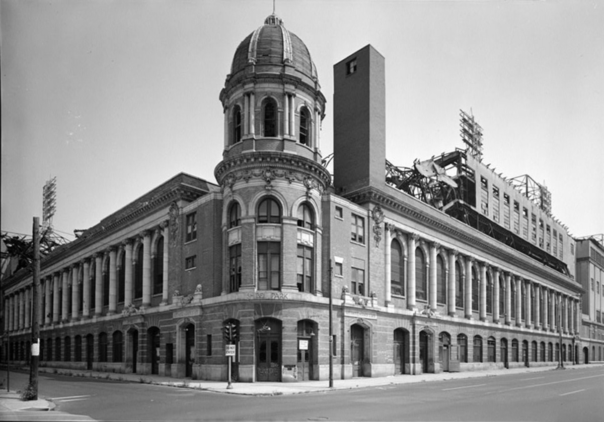 Shibe Park/Connie Mack Stadium. 1909-1970(Demolished in 1976); Philadelphia, PA.