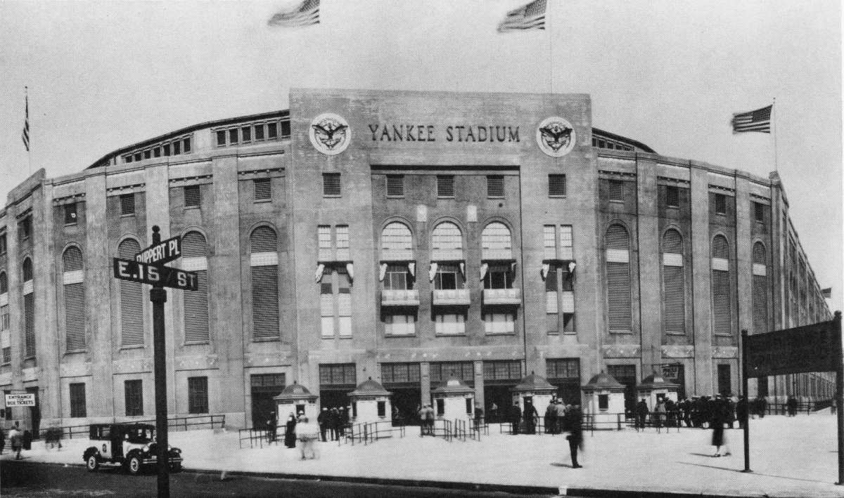 Yankee Stadium ... the original. It's believed this photo was taken in the mid to late 1930s.