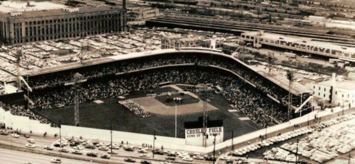 Crosley Field; Home of the Cincinnati Reds (1912-1970)