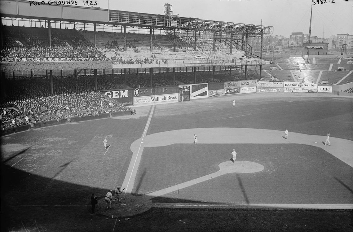 Polo Grounds (IV); Home of the New York Giants (1911-1957) and the New York Mets (1962-1963)