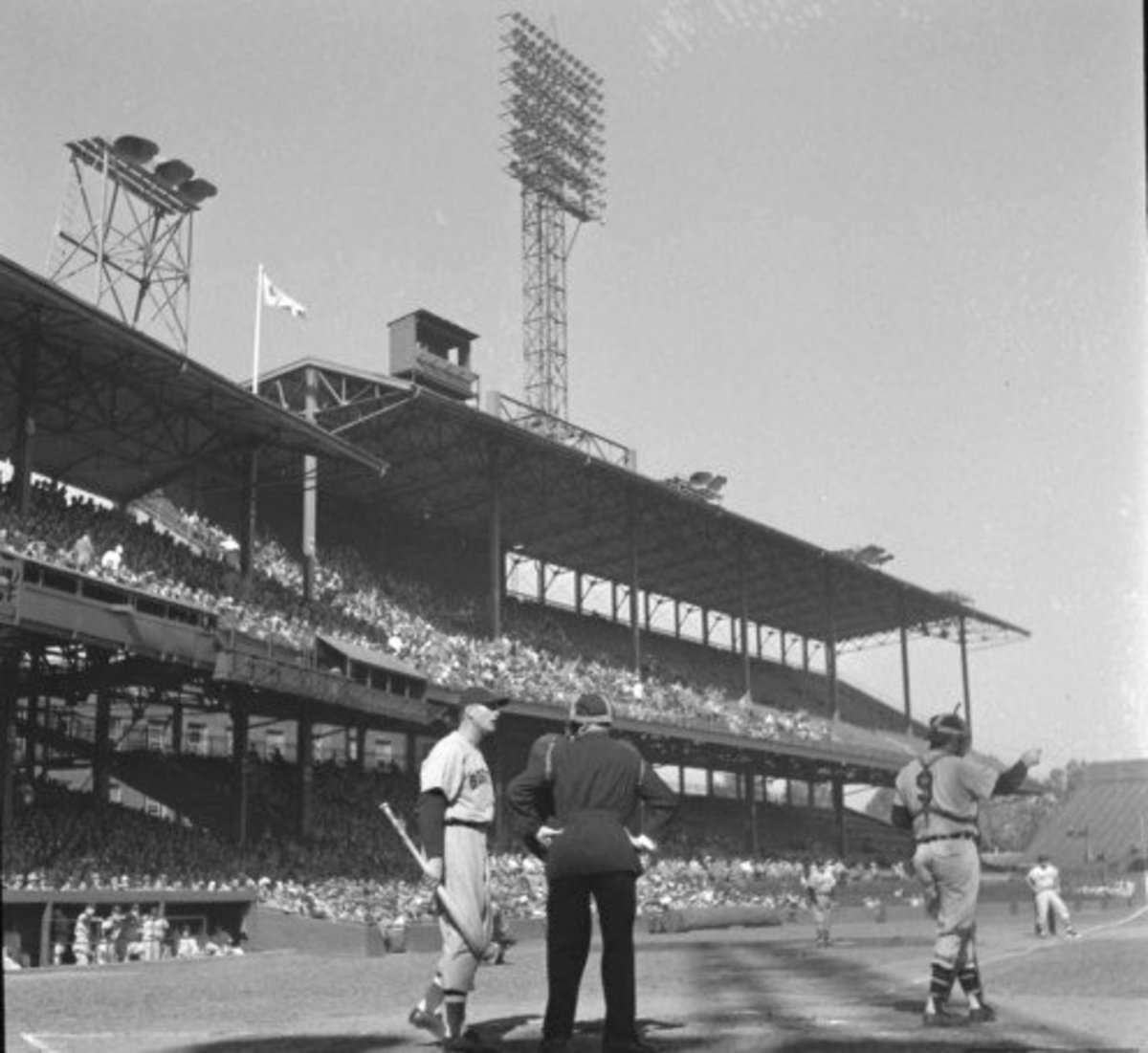 Griffith Stadium; (the second) Home of the original Washington Senators (until 1961)