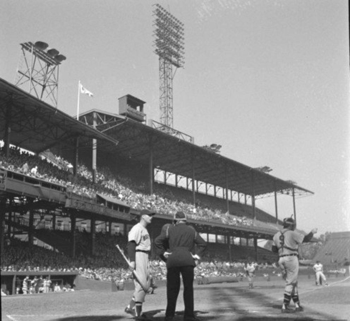 Griffith Stadium; (the second) Home of the original Washington Senators (until 1961)