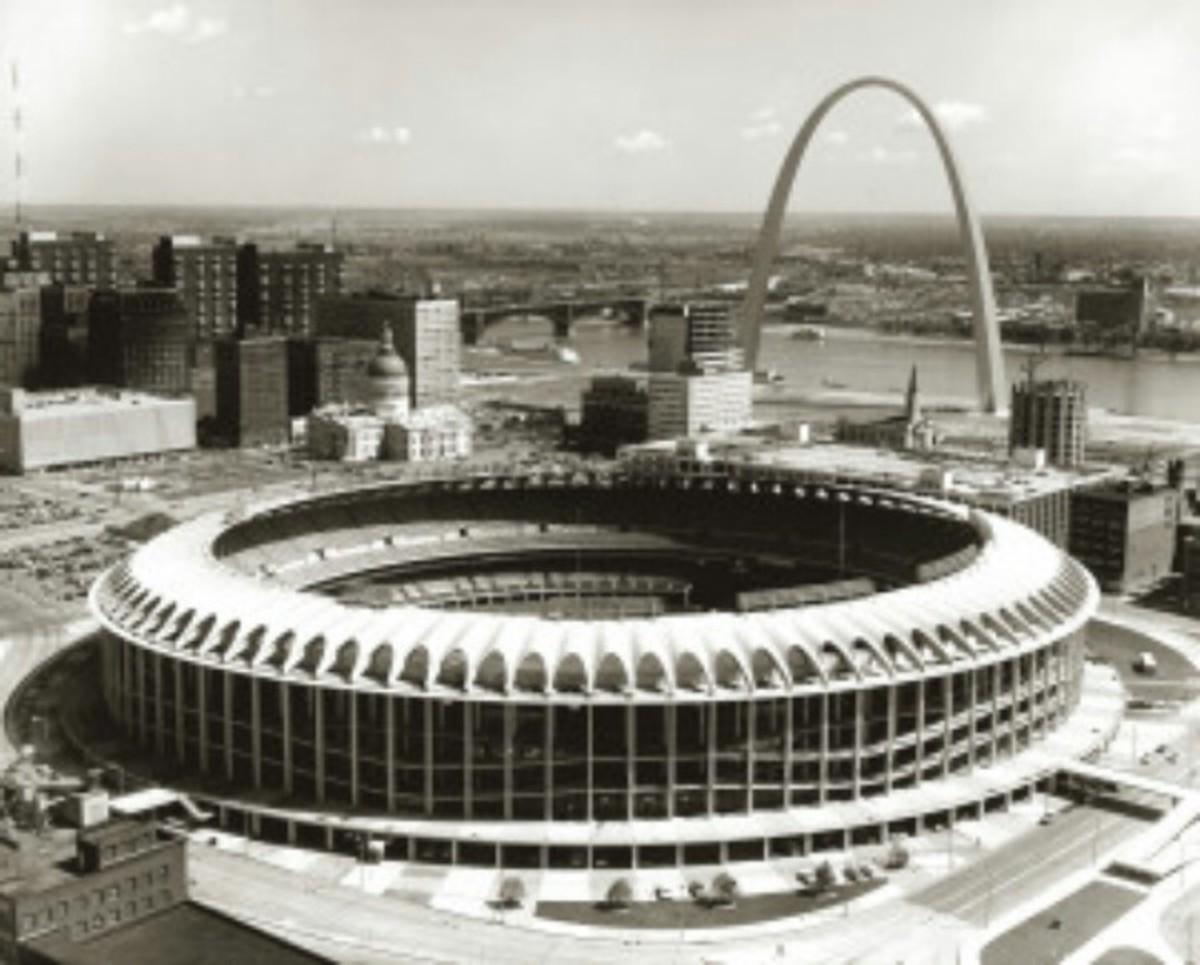 Busch Stadium ll; 1967