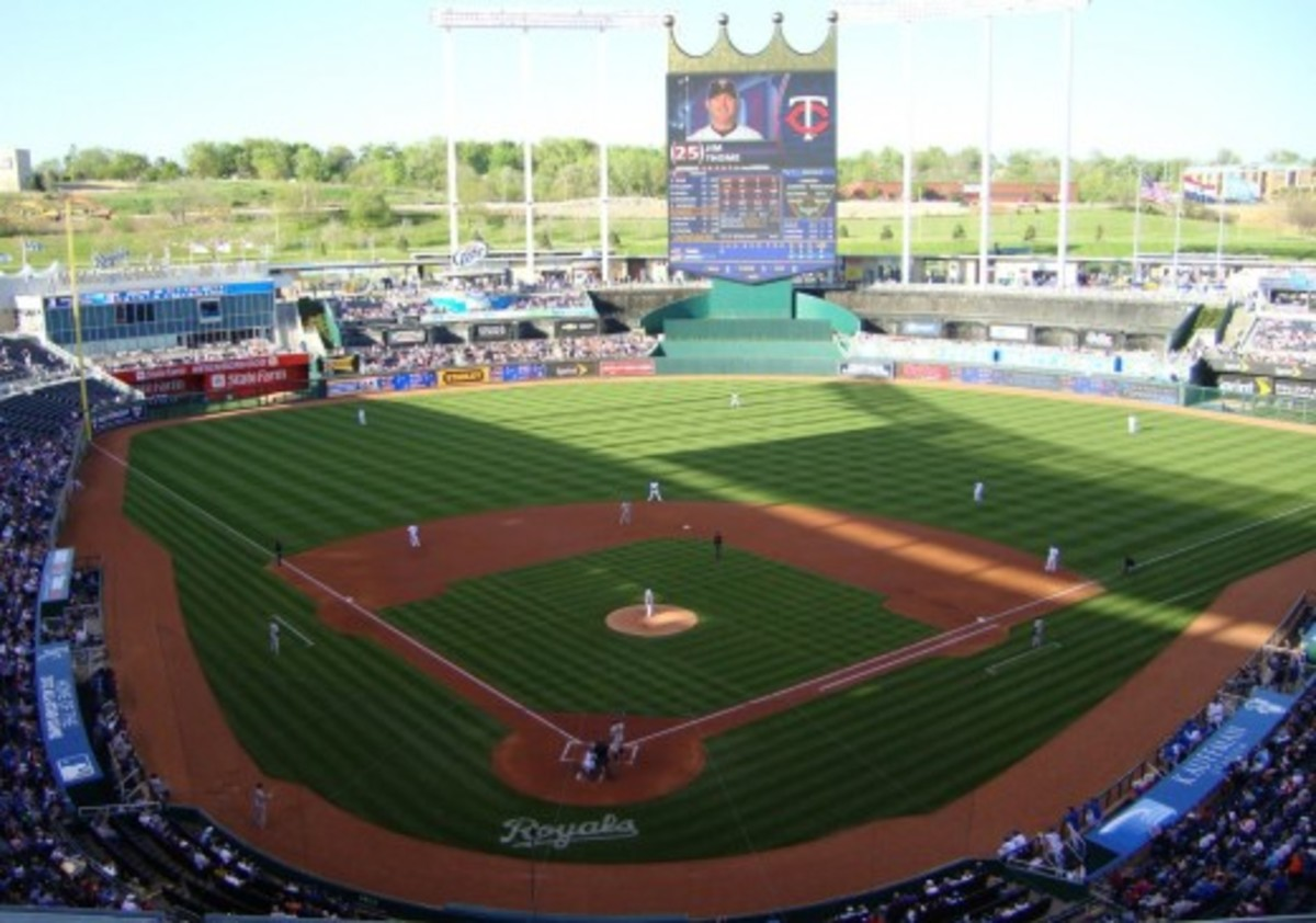 Kauffman Stadium; Kansas City, Missouri. Home of the Kansas City Royals