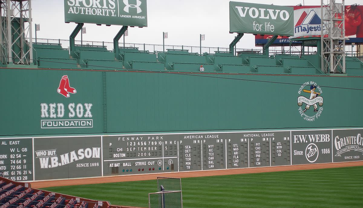 The Green Monster; Fenway Park, Boston