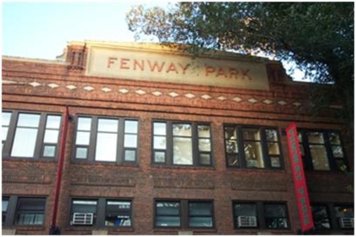 Fenway Park; Home of the Boston Red Sox