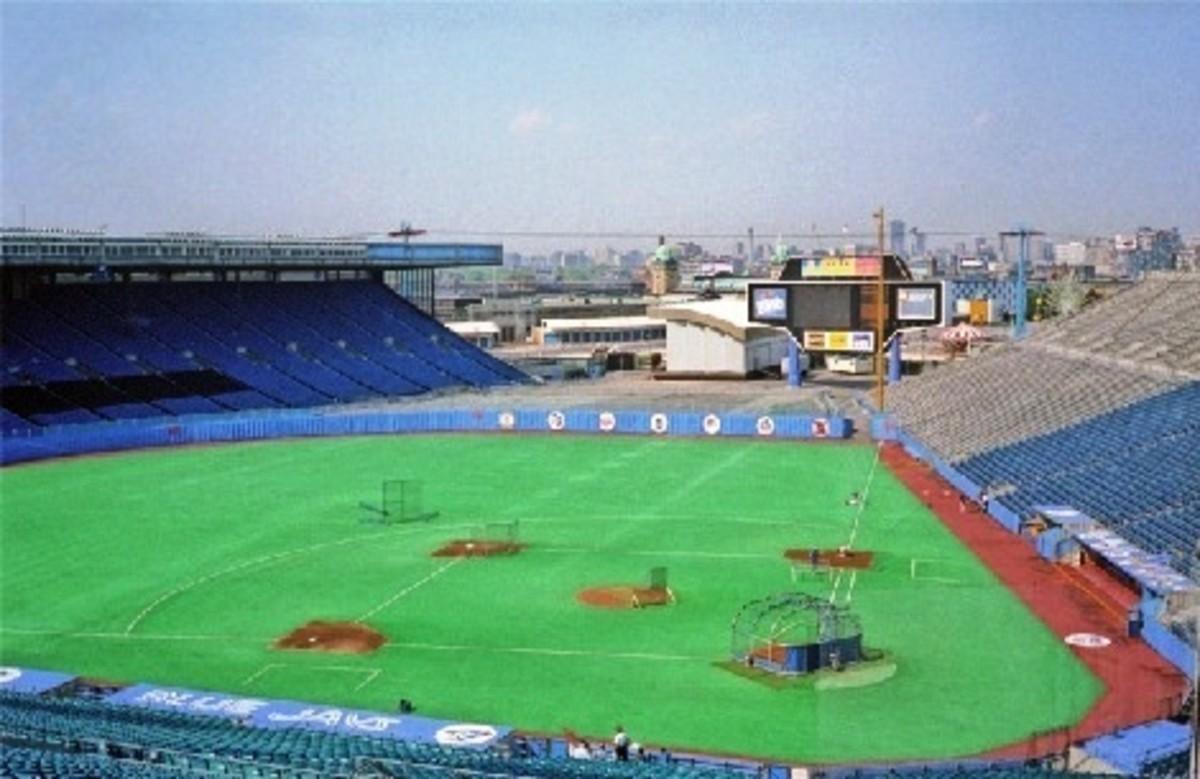 Exhibition Stadium in Toronto, ON (Canada)