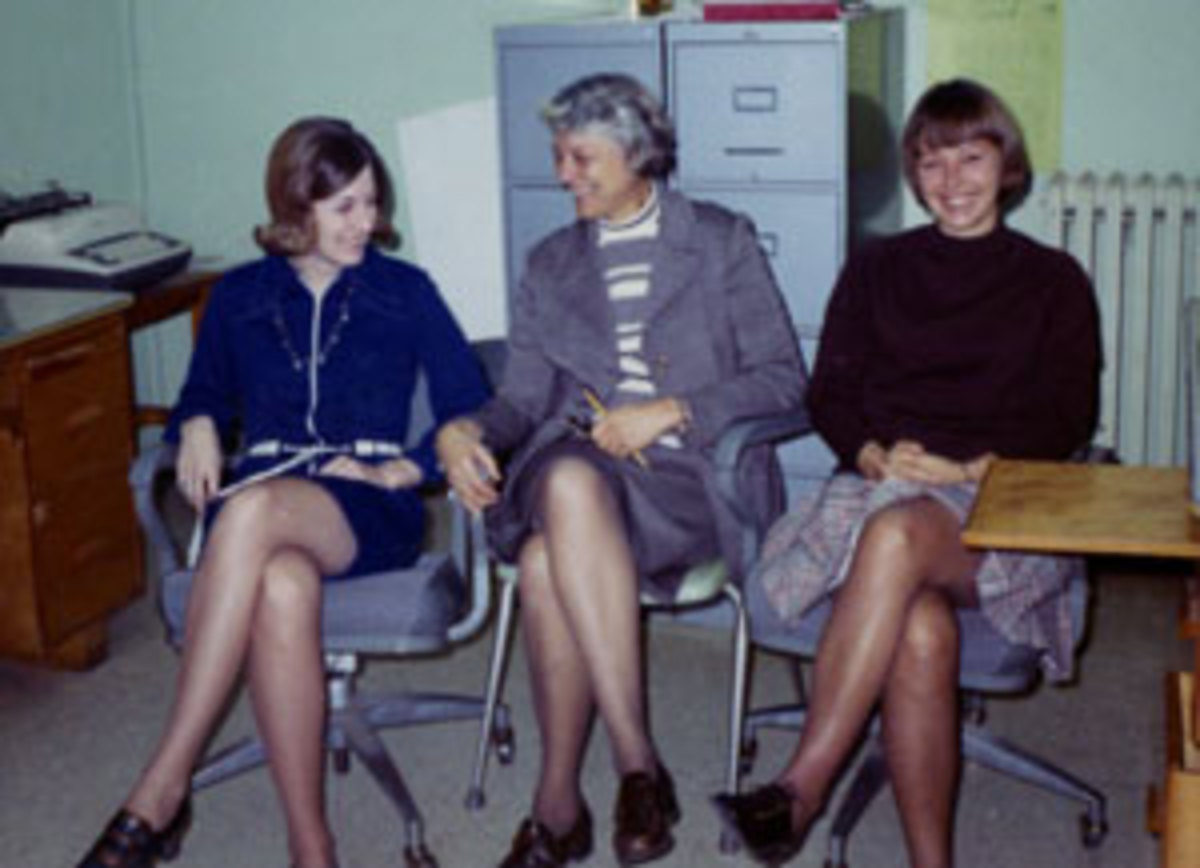 From left: Sheila Wallace-Kovalchik, Helen Ludwig and Gayle Lauth circa 1972.