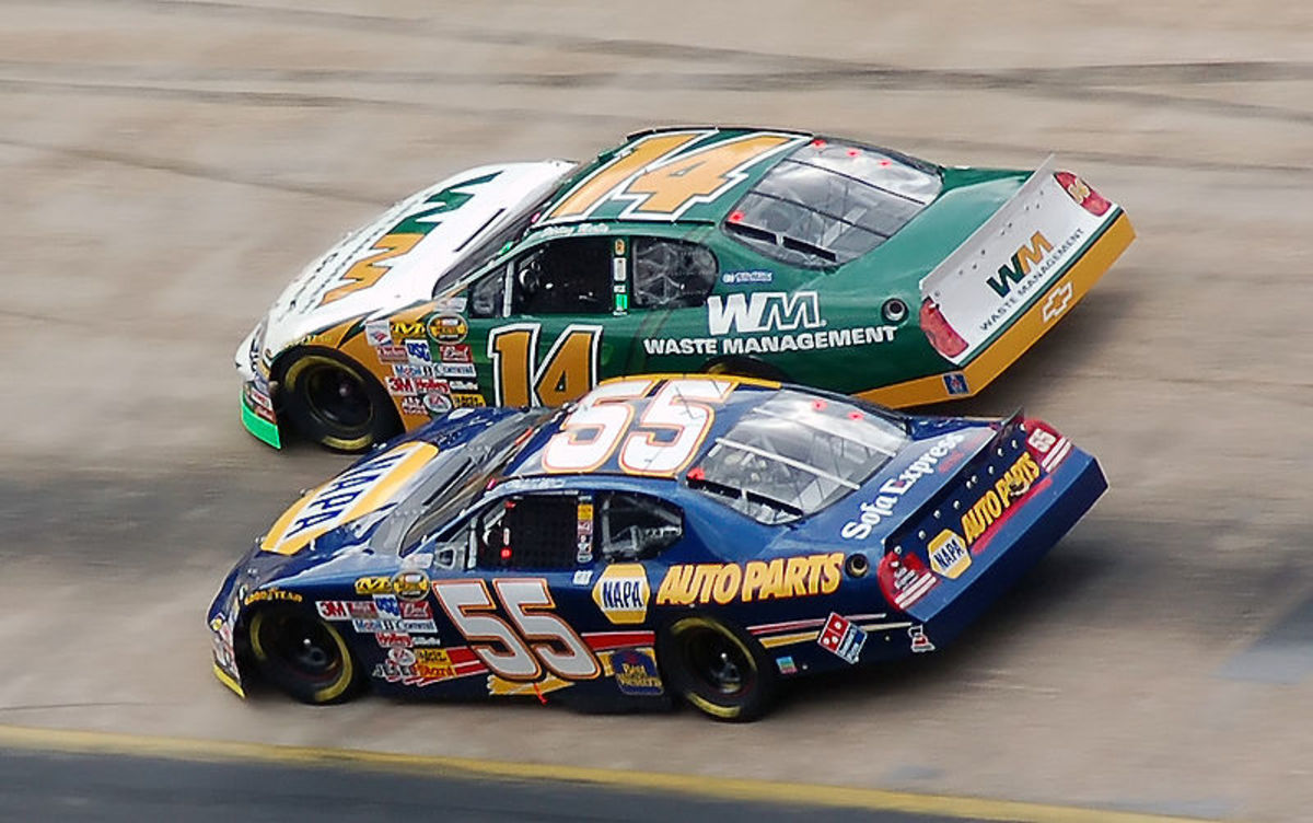 Michael Waltrip's team was caught using illegal fuel additives, rumored to be jet fuel.