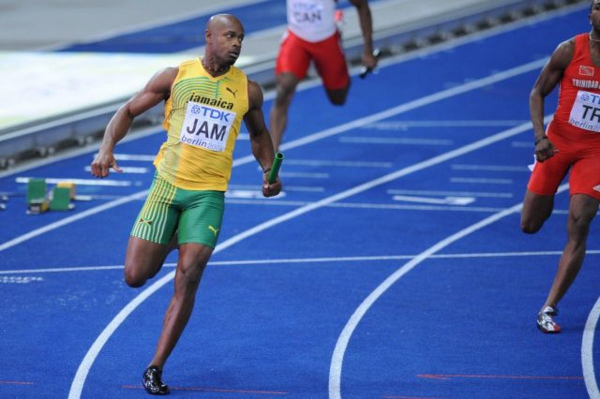 Asafa Powell managed to win his first Olympic medal in 2016.