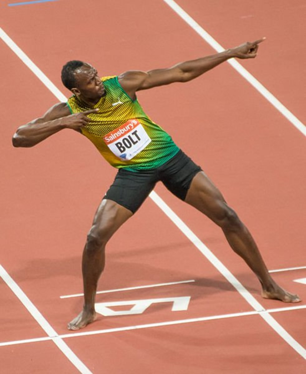 Usain Bolt is considered to be the greatest sprinter of all time.