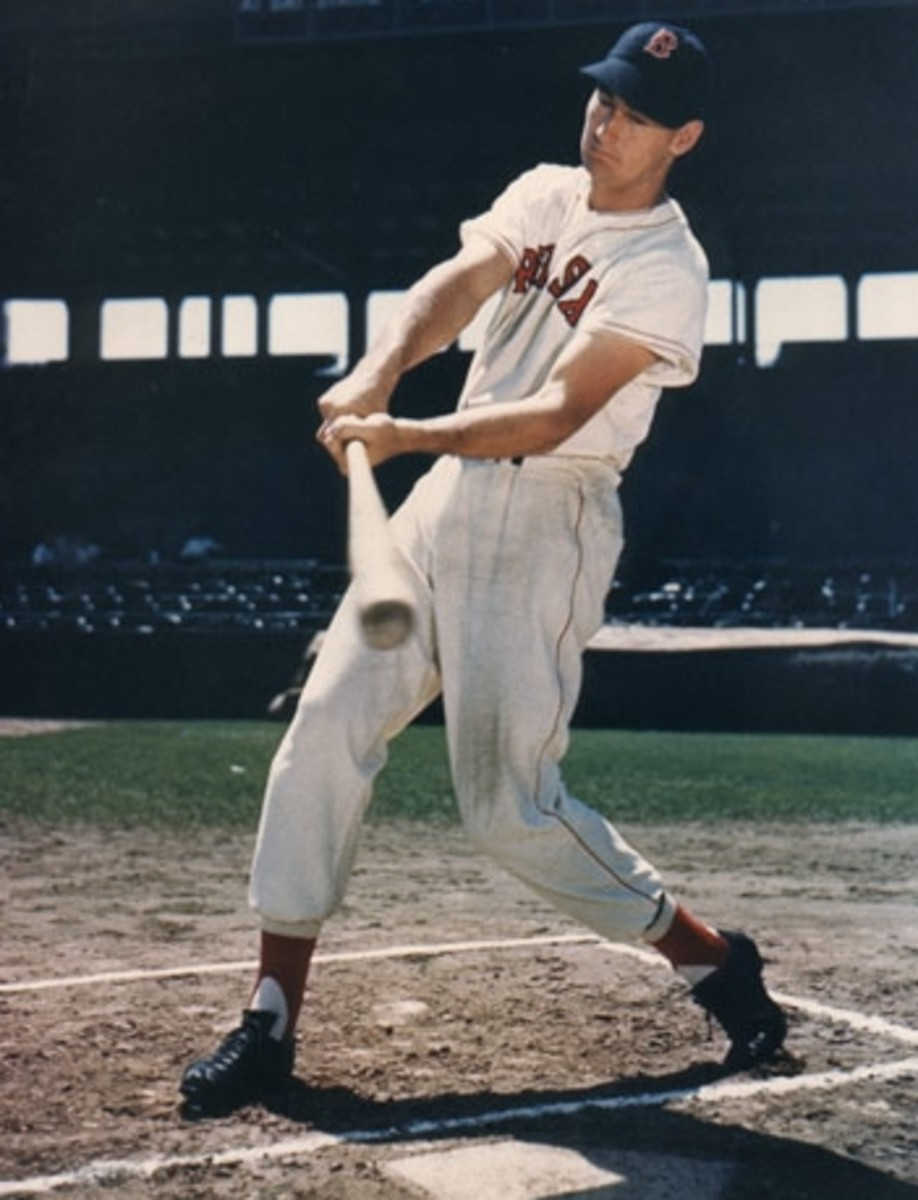 The sweet swing of Ted Williams