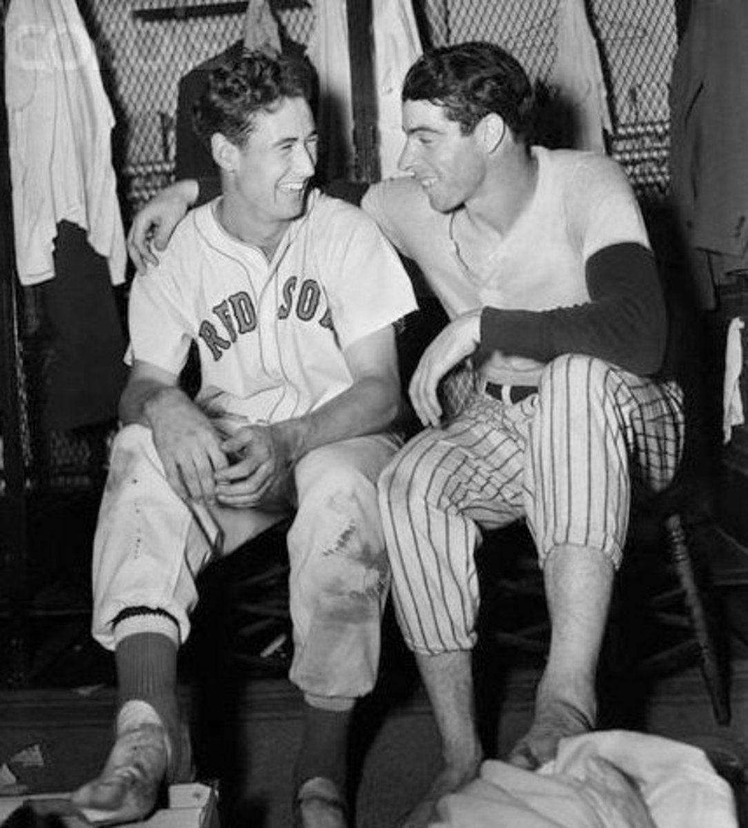 Ted Williams and Joe DiMaggio