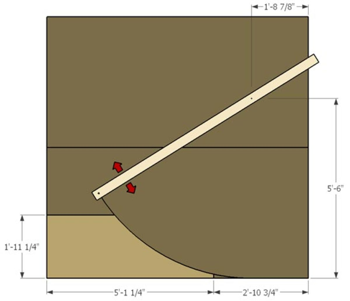 Ramp plan for building a micro quarter pipe howtheyplay for Half size set of plans