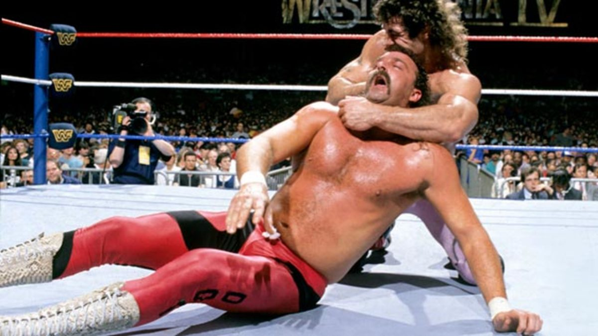 "Rick Rude vs Jake ""The Snake"" Roberts"