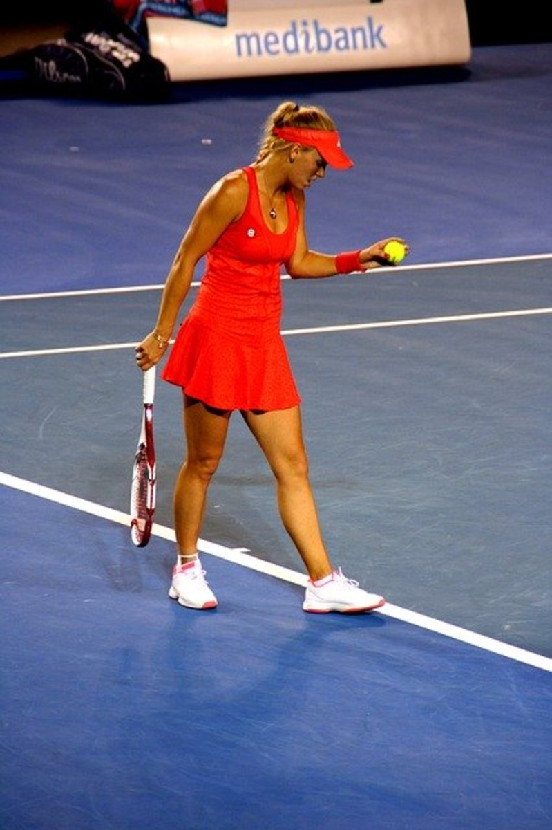 A former World No. 1 on the WTA Tour, Caroline Wozniacki was the first woman from a Scandinavian country to hold the top ranking position.  The daughter of Polish Roman Catholic immigrants, Wozniacki plays tennis for Denmark.