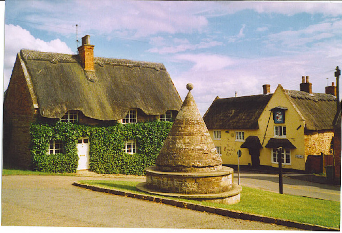 Nothing could possibly disturb the peace and calm of the village of Hallaton. Oh no?