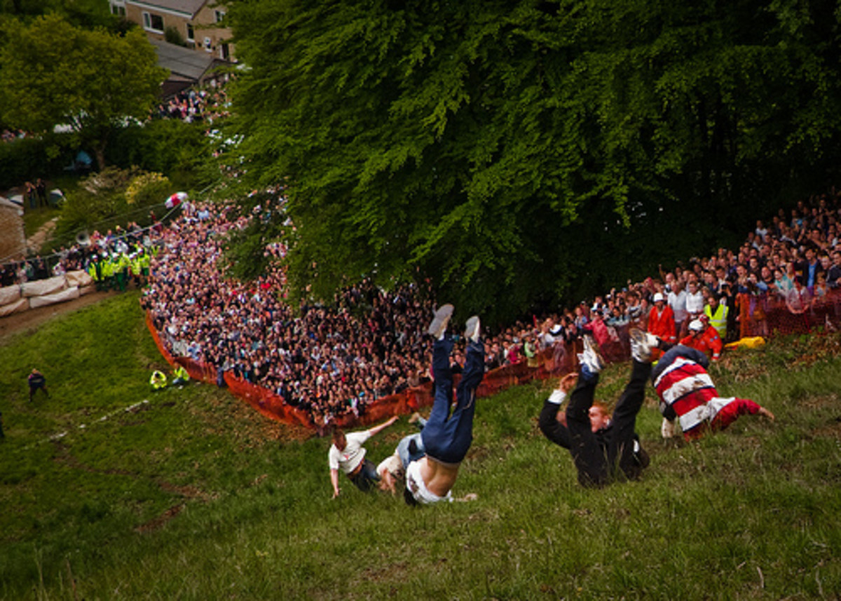 Gloucestershire's Cheese Race