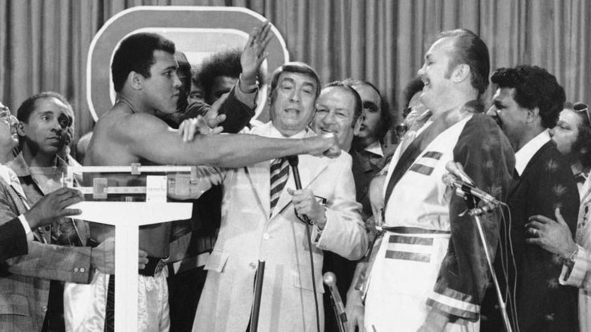 Press Conference announcing Wepner and Ali fight