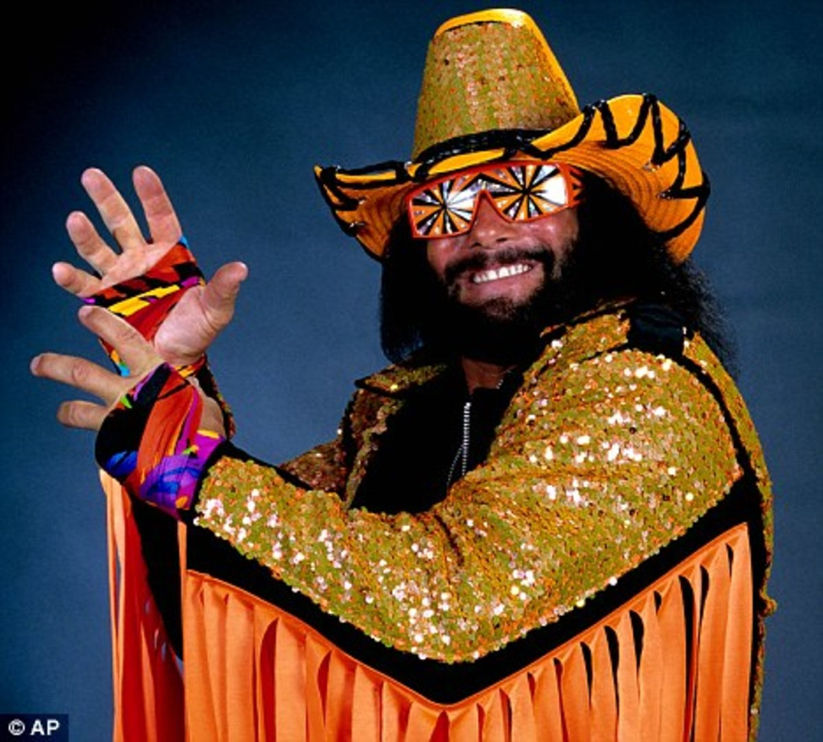 """Macho Man"" Randy Savage."