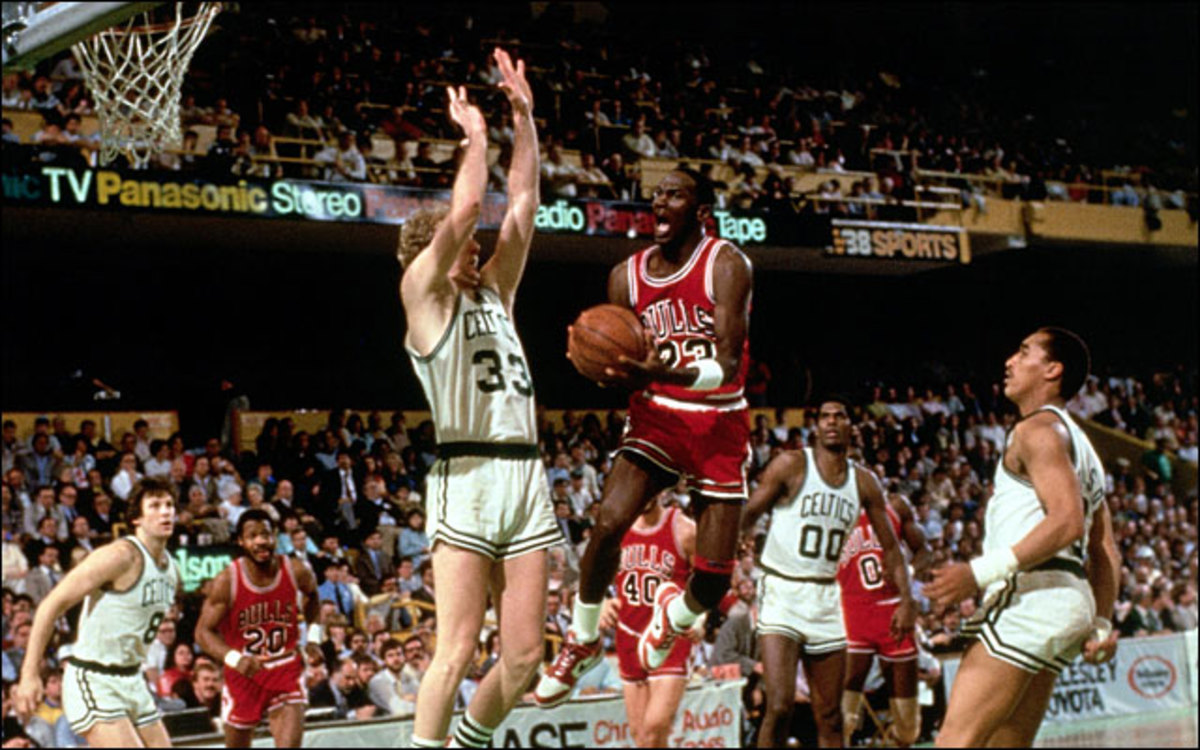 Larry Bird and Michael Jordan were great Eastern Conference rivals.