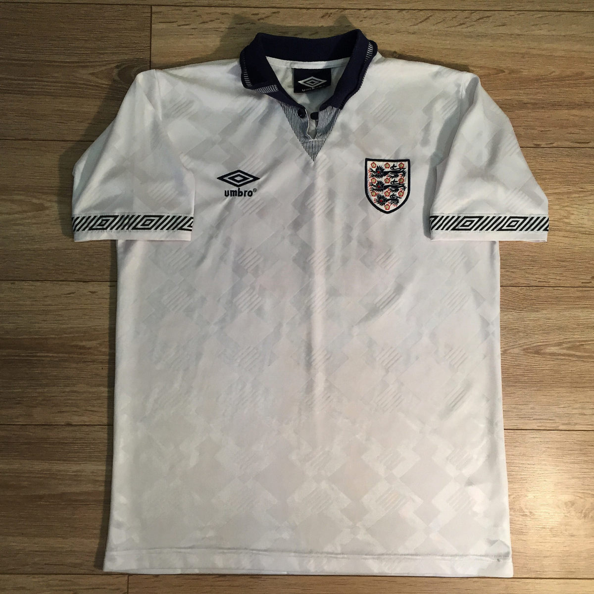 England Home Shirt 1990 World Cup