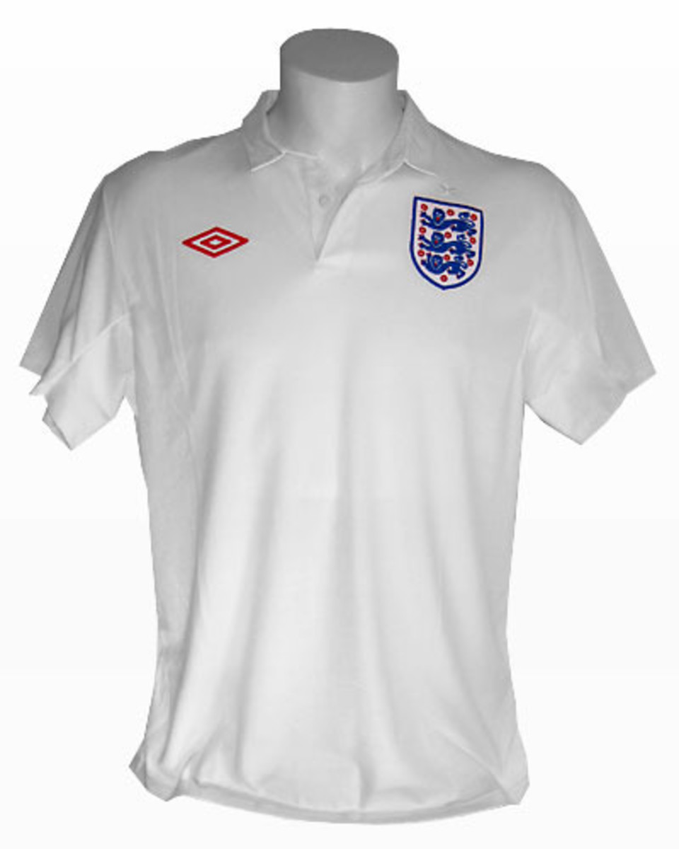 England Home Shirt 2010 World Cup
