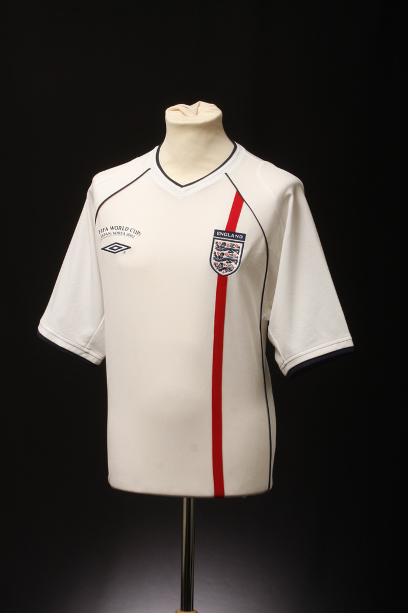 England Home Shirt 2002 World Cup