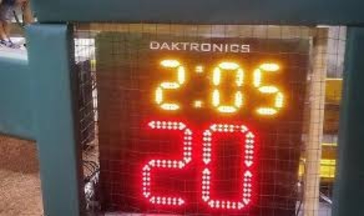 The clock will become a part of this league... not just a pitch clock, but a game clock as well.