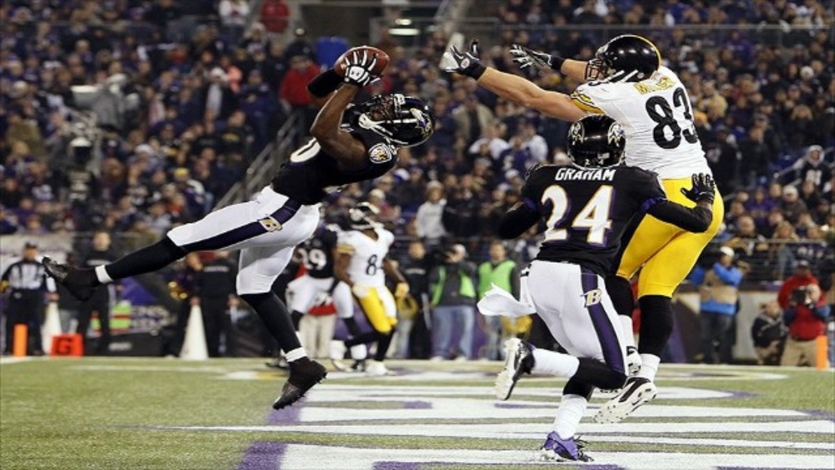 Ed Reed was an interception machine at free safety.