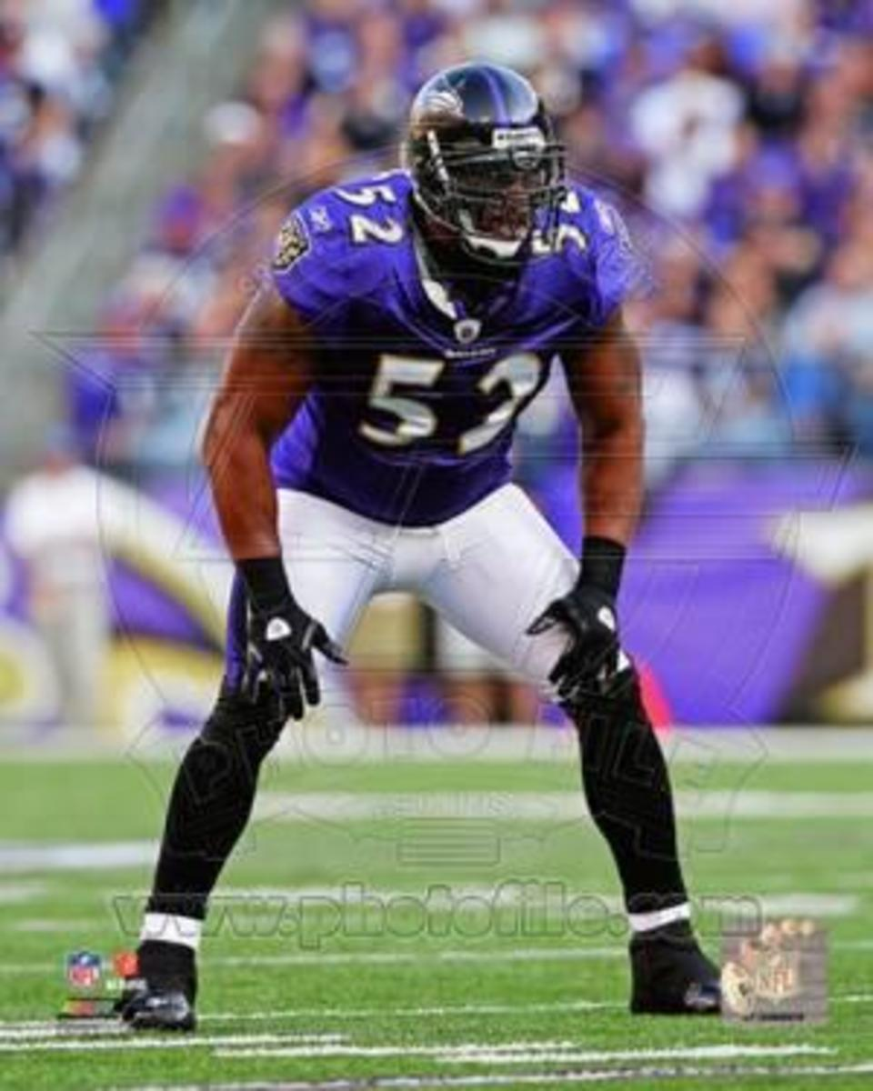 Ray Lewis is the greatest Mike middle linebacker to play the game.