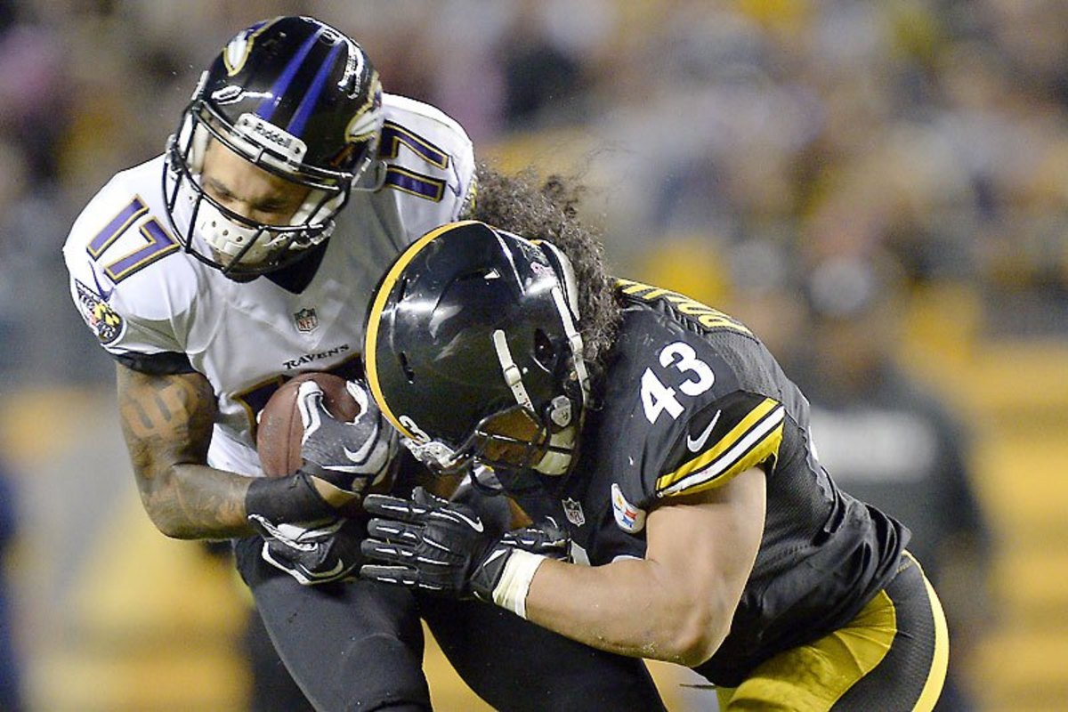 Troy Polamalu was a hard hitting strong safety that terrorized the league for years.