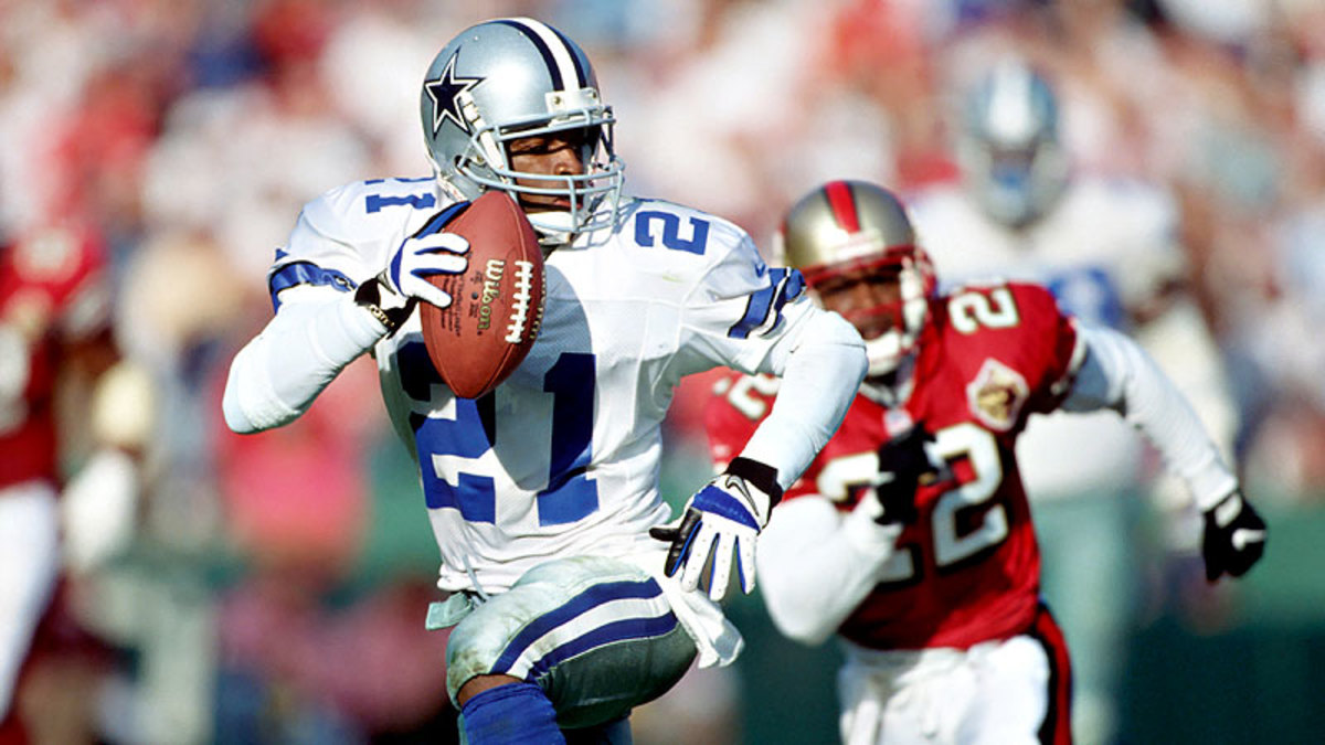 Deion Sanders is the best cornerback to ever guard wide receivers.