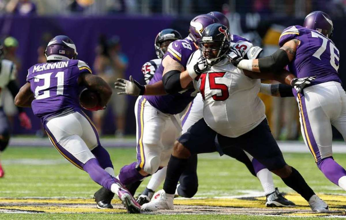 Defensive Tackle Vince Wilfork is one of the biggest and most productive DTs ever.