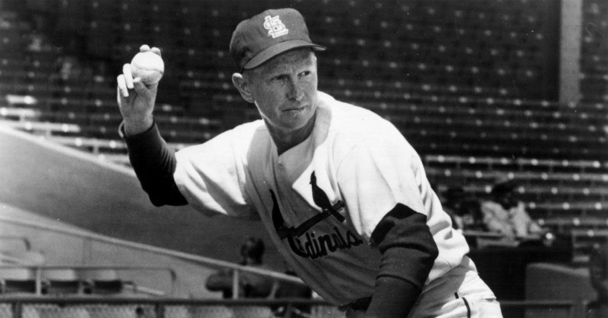 As a player, coach and manager, Red Schoendienst was a member of five winning World Series teams.