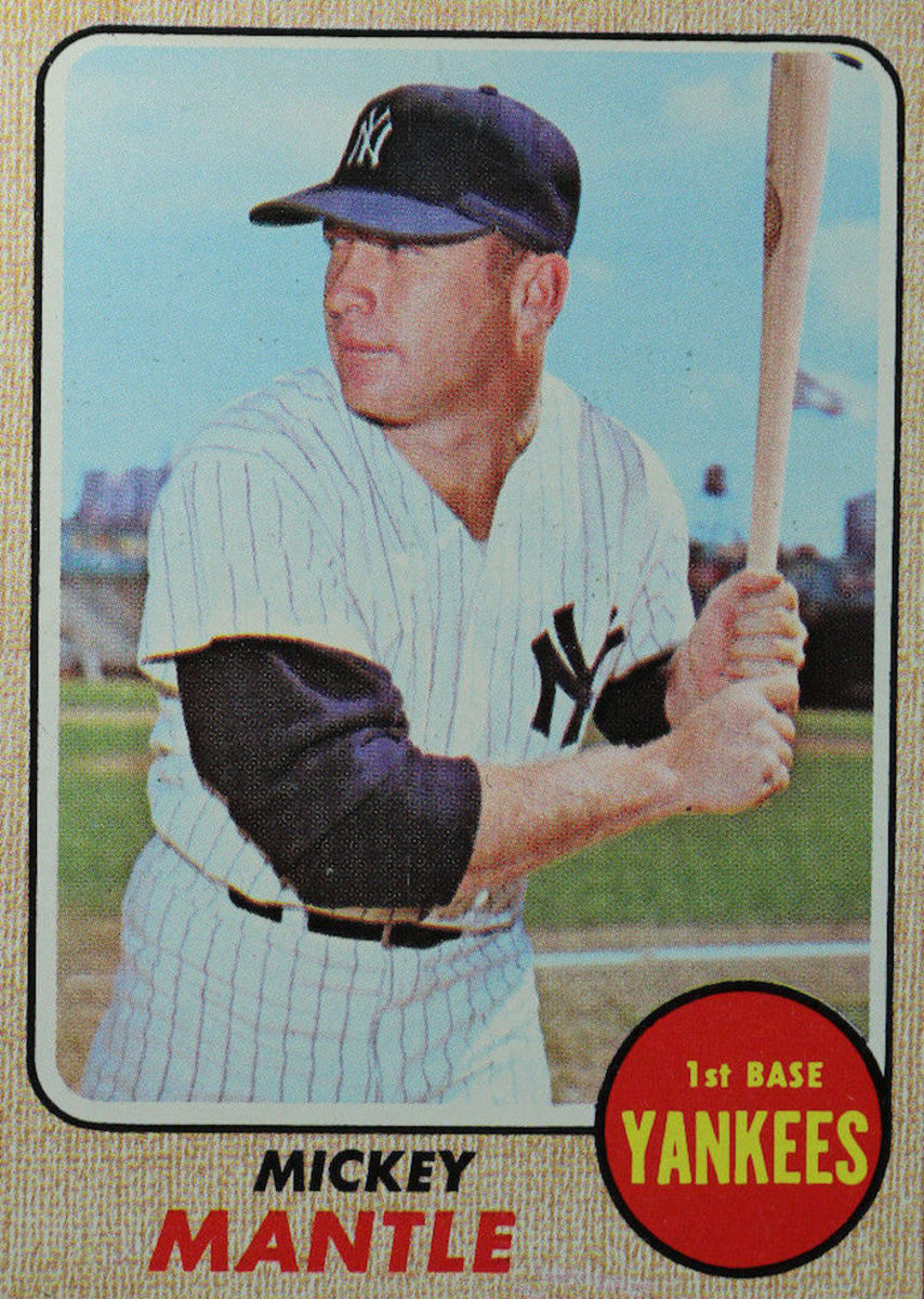 1968- Mickey Mantle