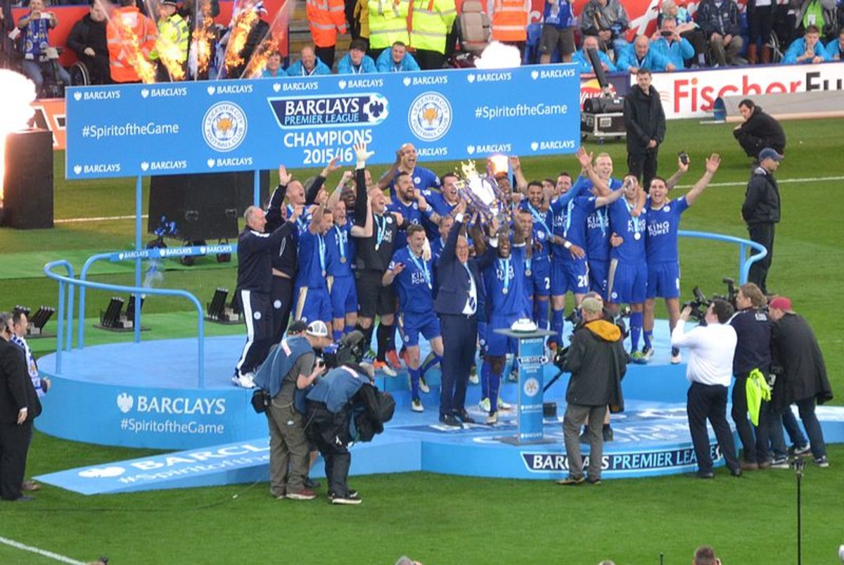 In 2016 Leicester City overcame odds of 5000/1 to claim their first ever Premier League and top division title.