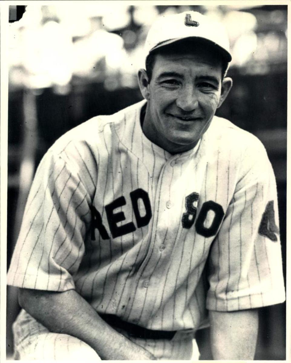 Earl Webb with the Boston Red Sox.