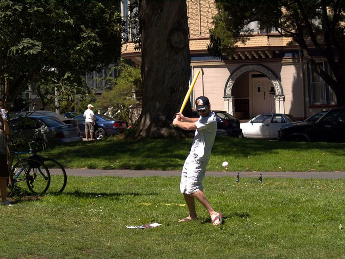 Wiffle ball game