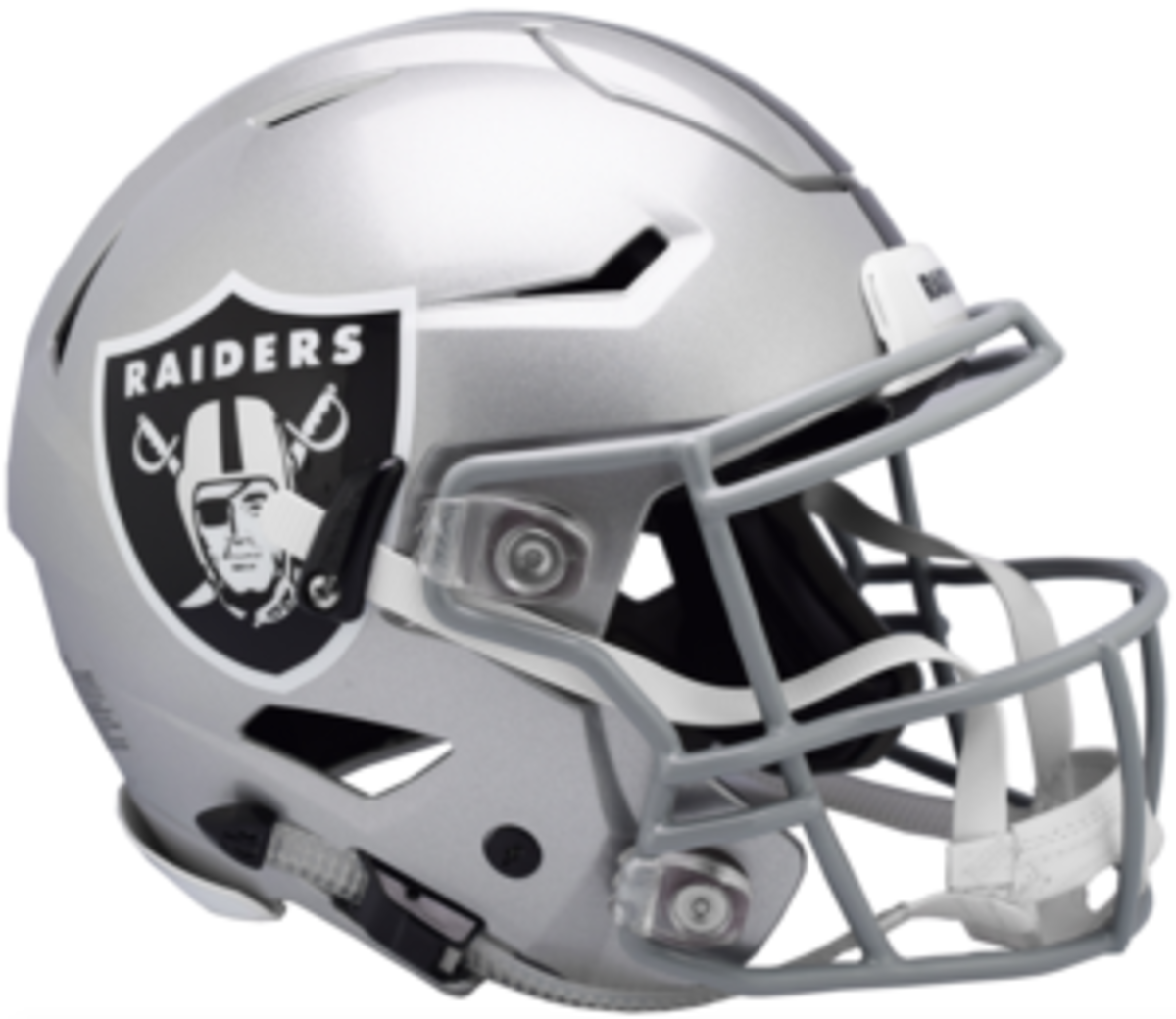 A Raiders helmet.