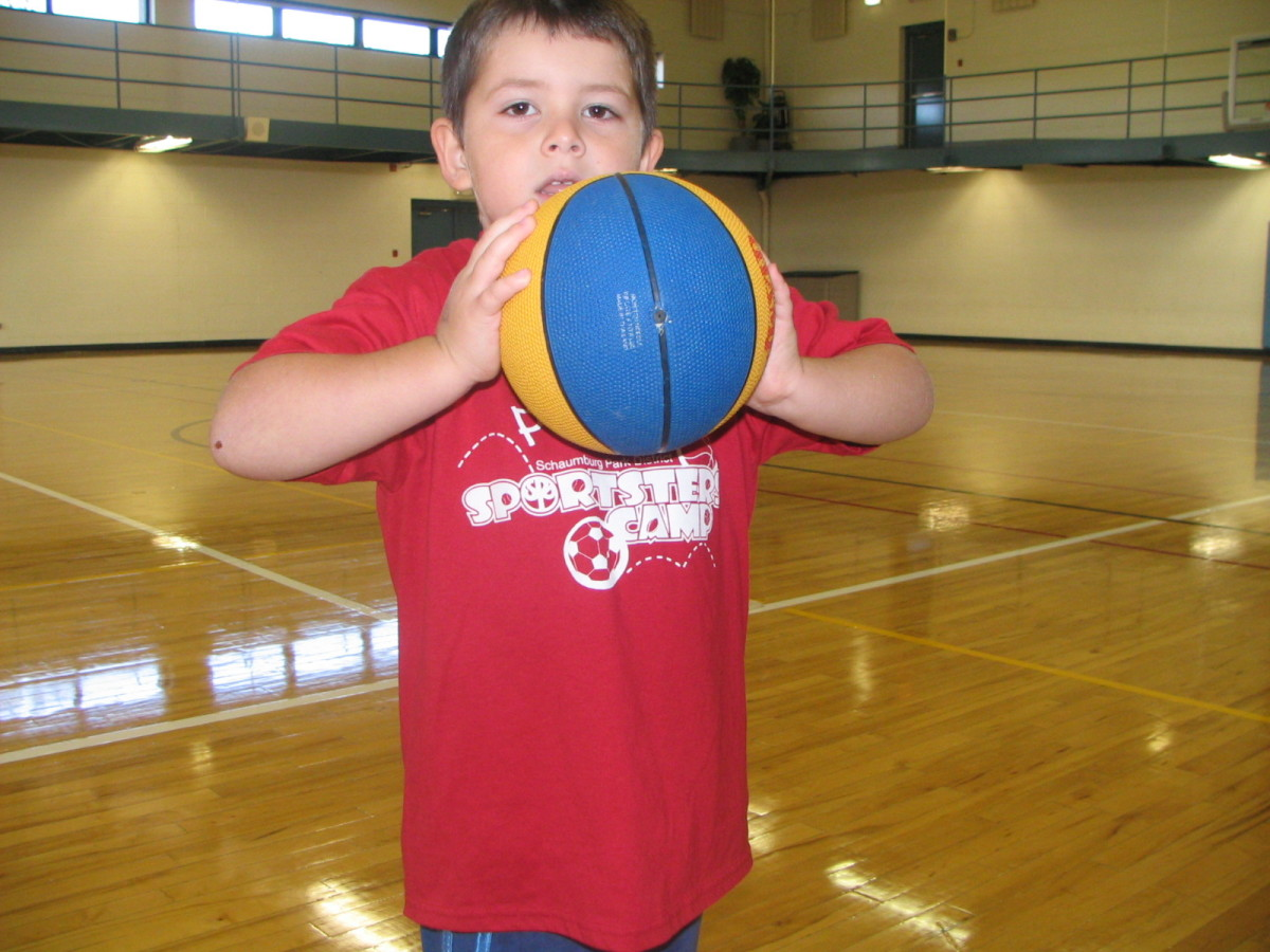 How to Teach Young Children to Properly Pass a Basketball