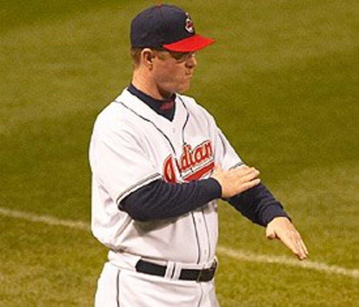 Cleveland Indians Coach Jeff Datz