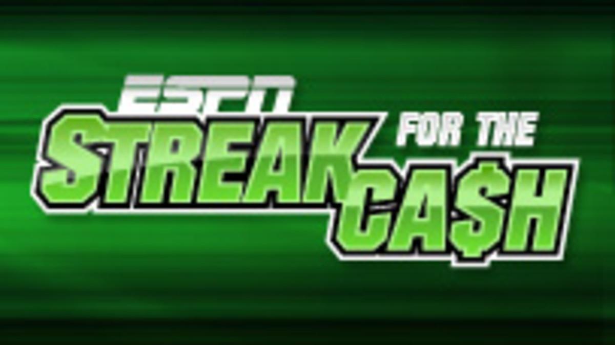 Streak for the cash winners