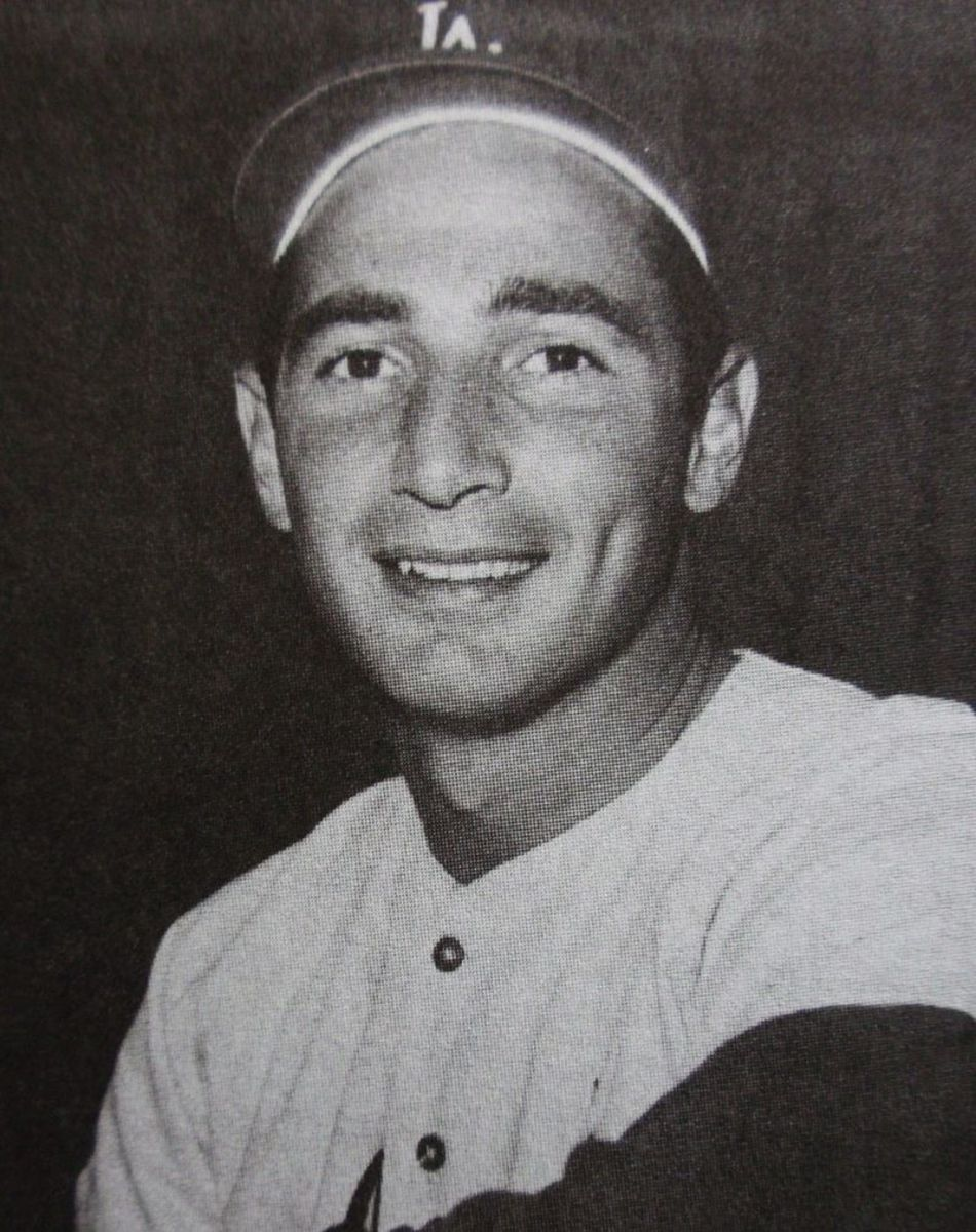 Publicity still photograph of Sandy Koufax.