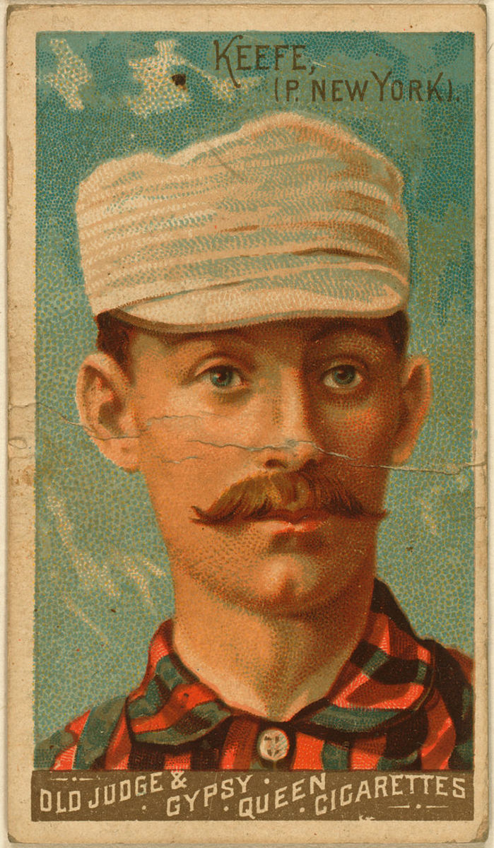 Tim Keefe 1888 baseball card by Goodwin & Company.